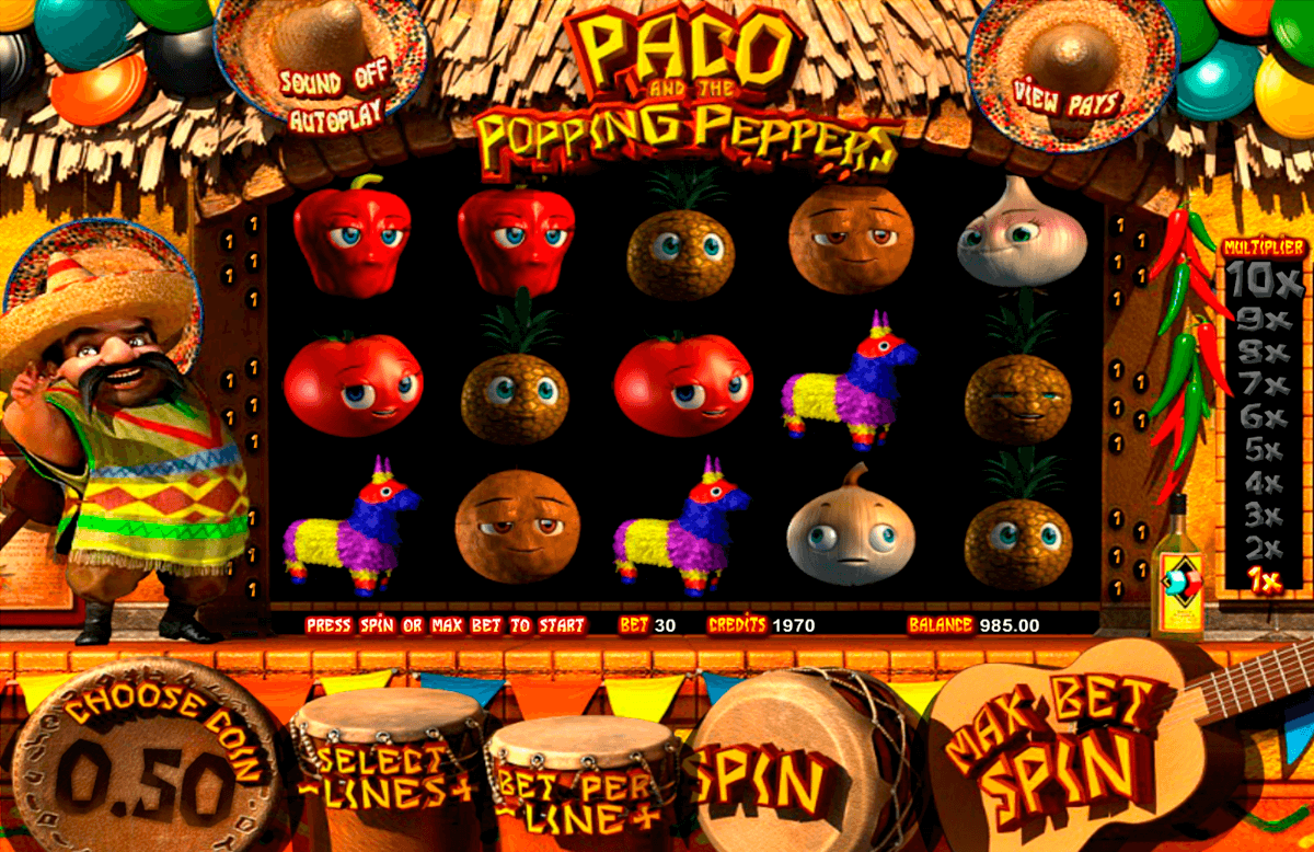 paco and the popping peppers betsoft pacanele