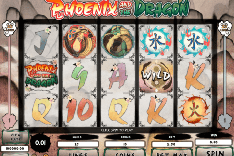 phoenix and the dragon microgaming pacanele