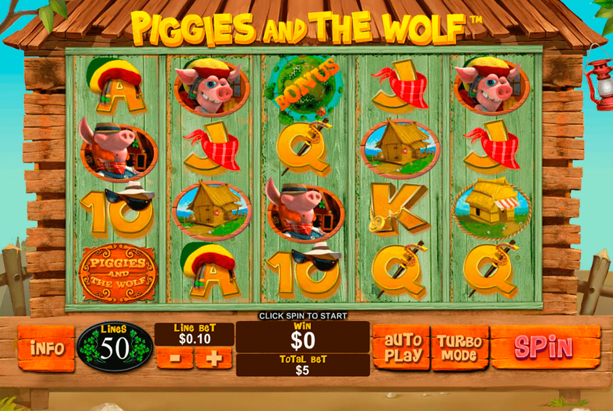 piggies and the wolf playtech pacanele