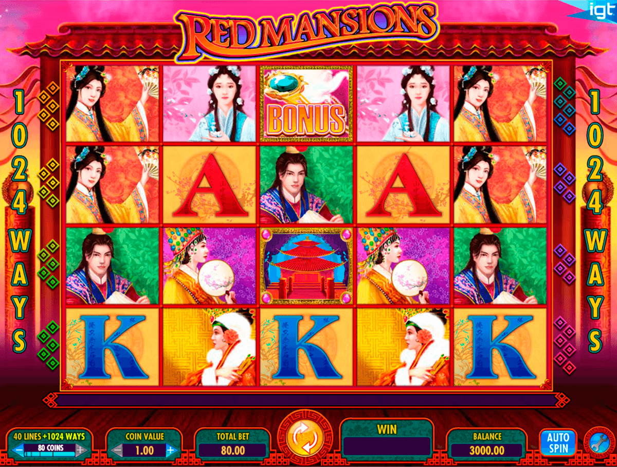 red mansions igt pacanele