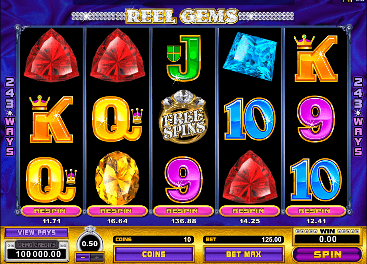 reel gems microgaming pacanele