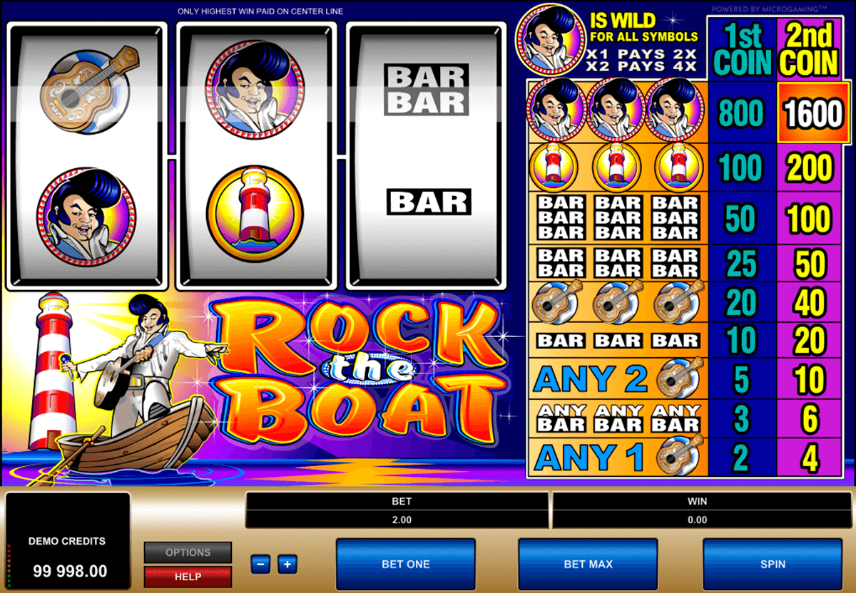 rock the boat microgaming pacanele