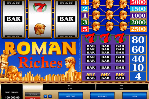 roman riches microgaming pacanele