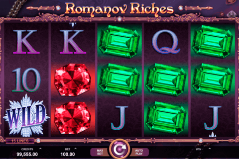 romanov riches microgaming pacanele