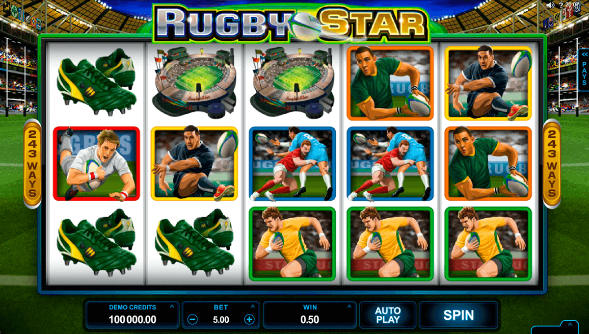 rugby star microgaming pacanele