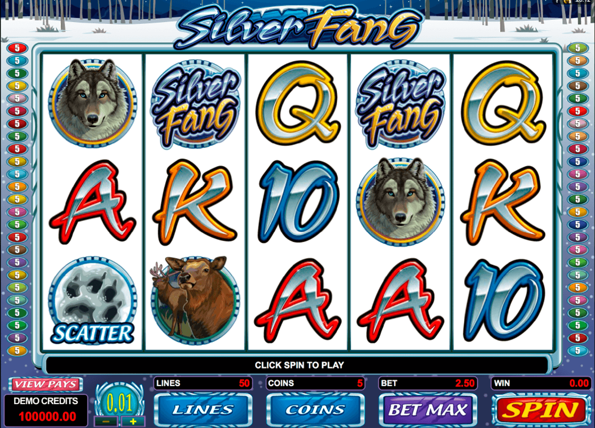 silver fang microgaming pacanele