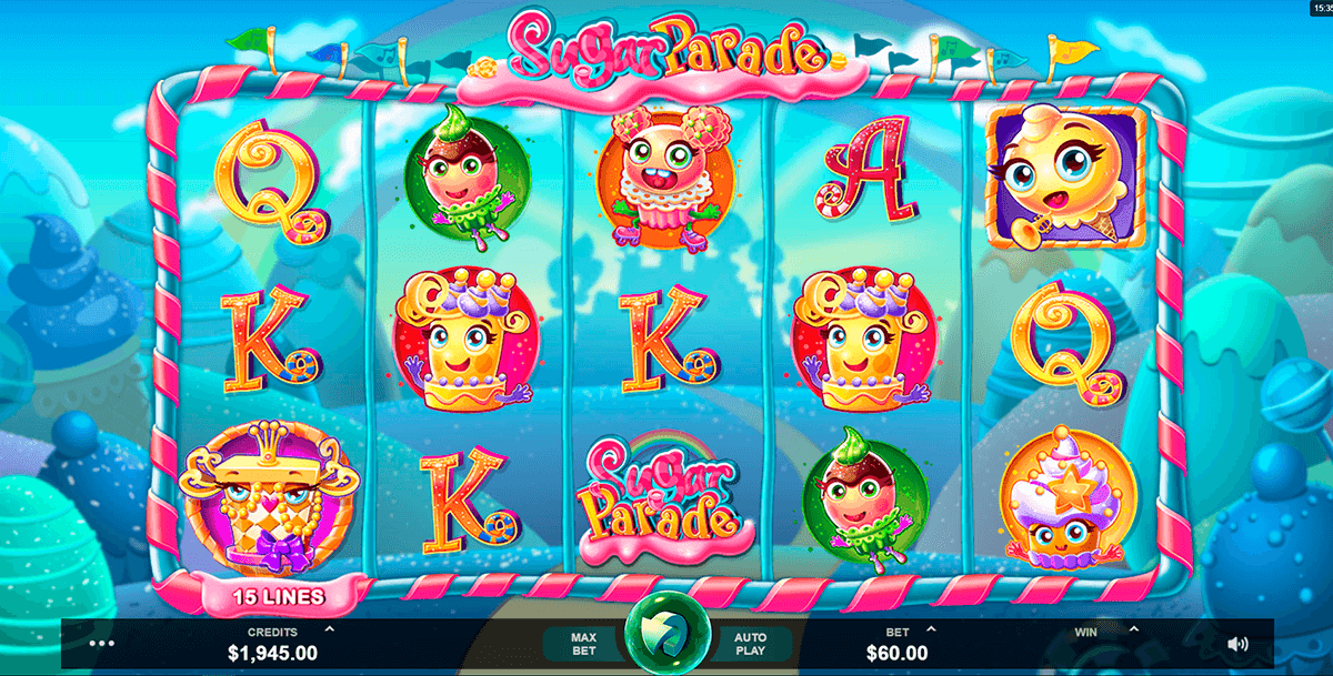 sugar parade microgaming pacanele