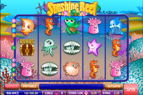 sunshine reef microgaming pacanele