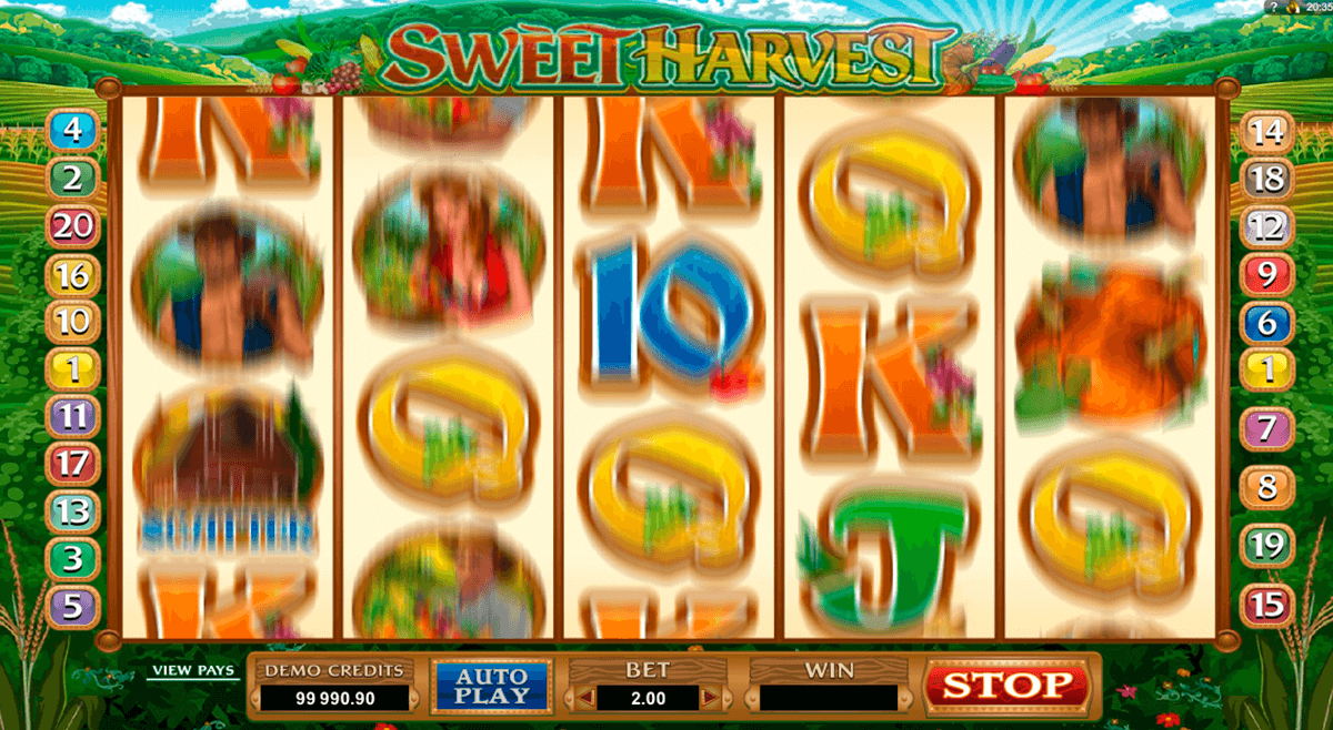 sweet harvest microgaming pacanele