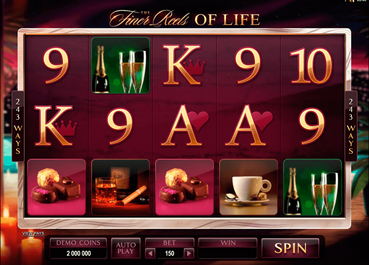 the finer reels of life microgaming pacanele