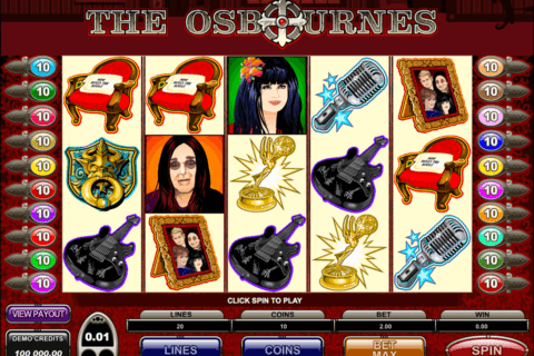 the osbournes microgaming pacanele