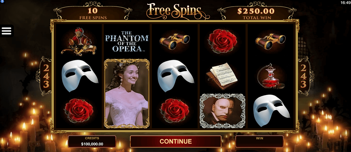 the phantom of the opera microgaming pacanele