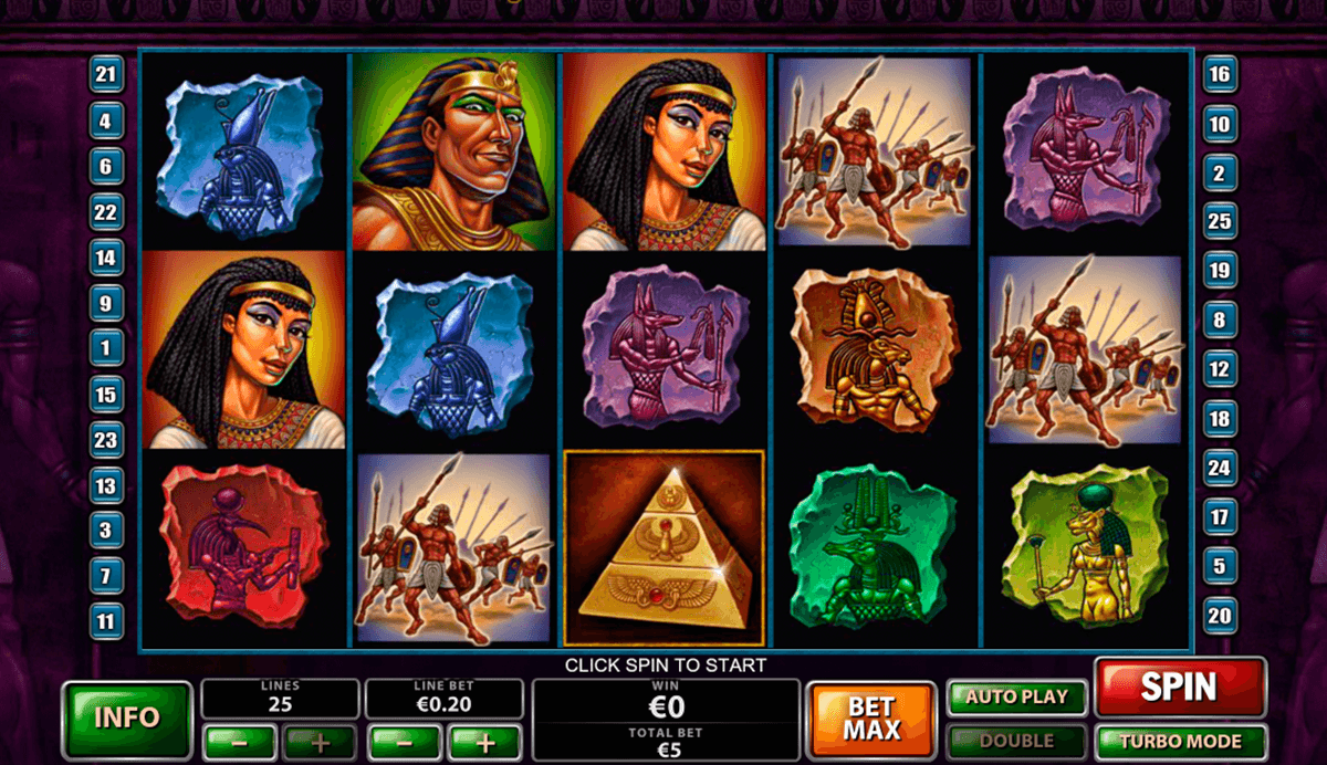 the pyramid of the ramesses playtech pacanele