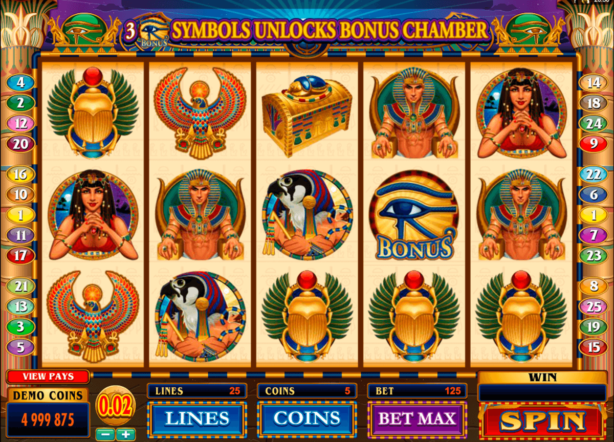 throne of egypt microgaming pacanele
