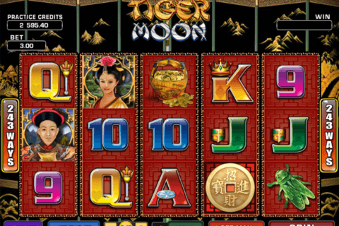 tiger moon microgaming pacanele