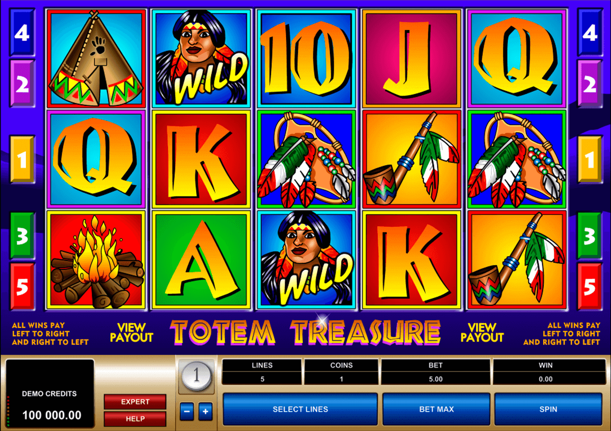 totem treasure microgaming pacanele
