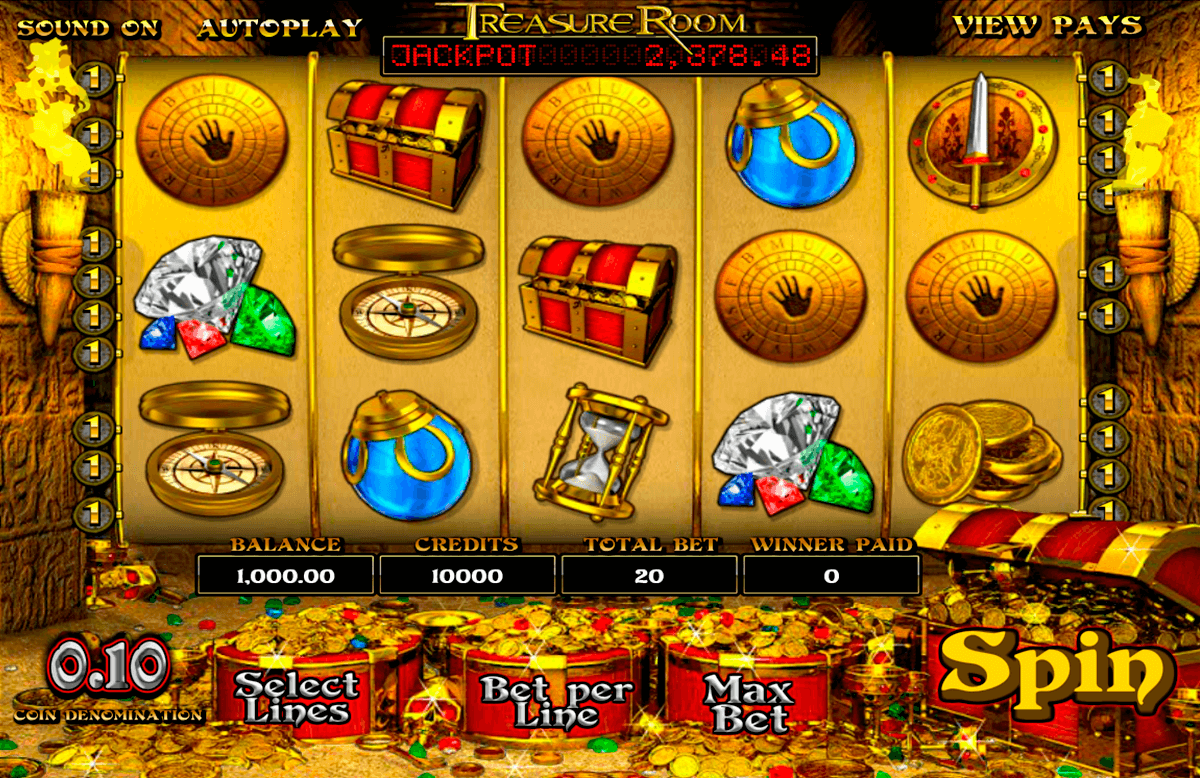 treasure room betsoft pacanele