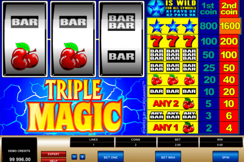 triple magic microgaming pacanele