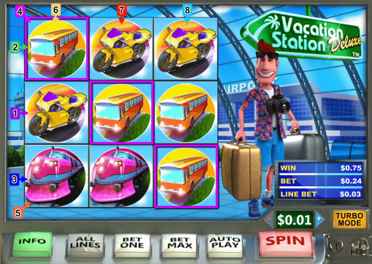 vacation station deluxe playtech pacanele
