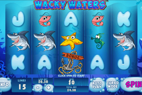 wacky waters playtech pacanele