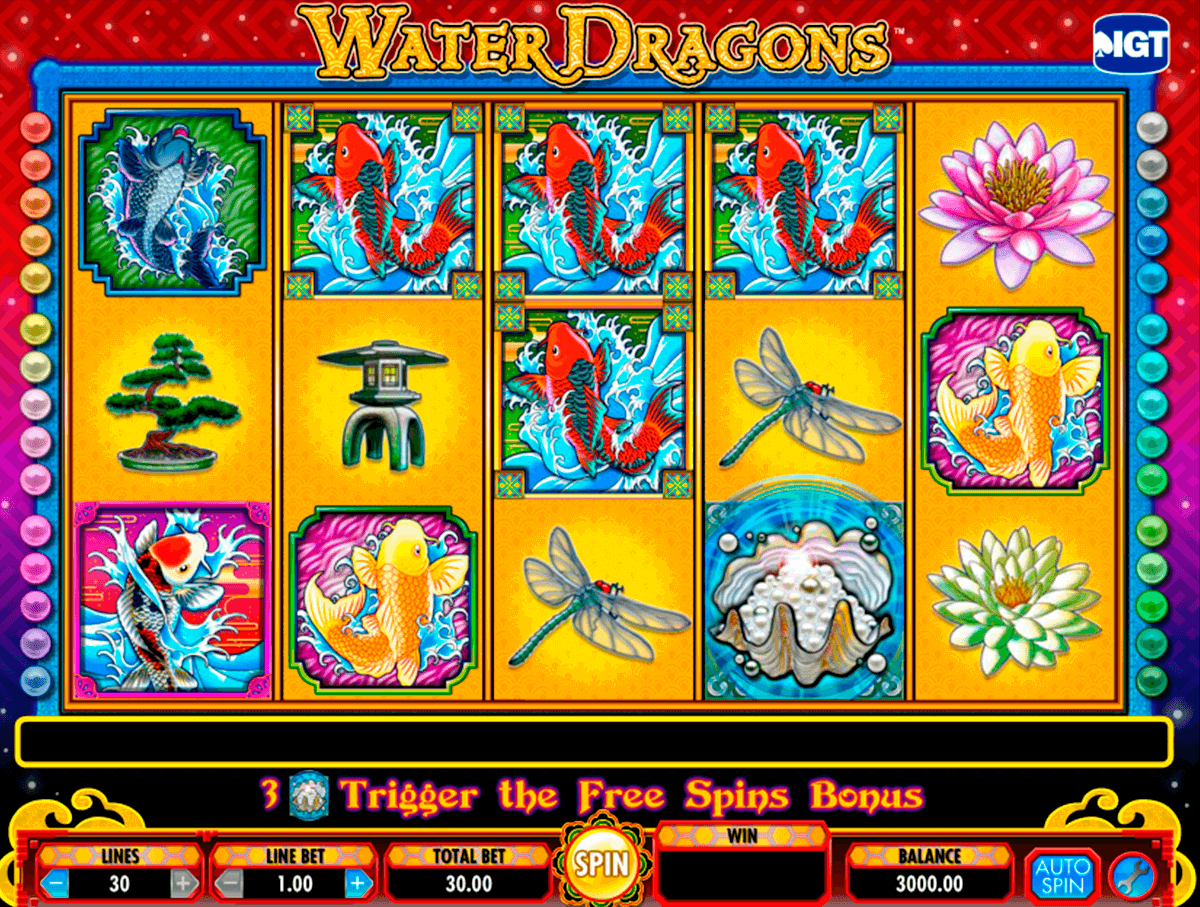 water dragons igt pacanele