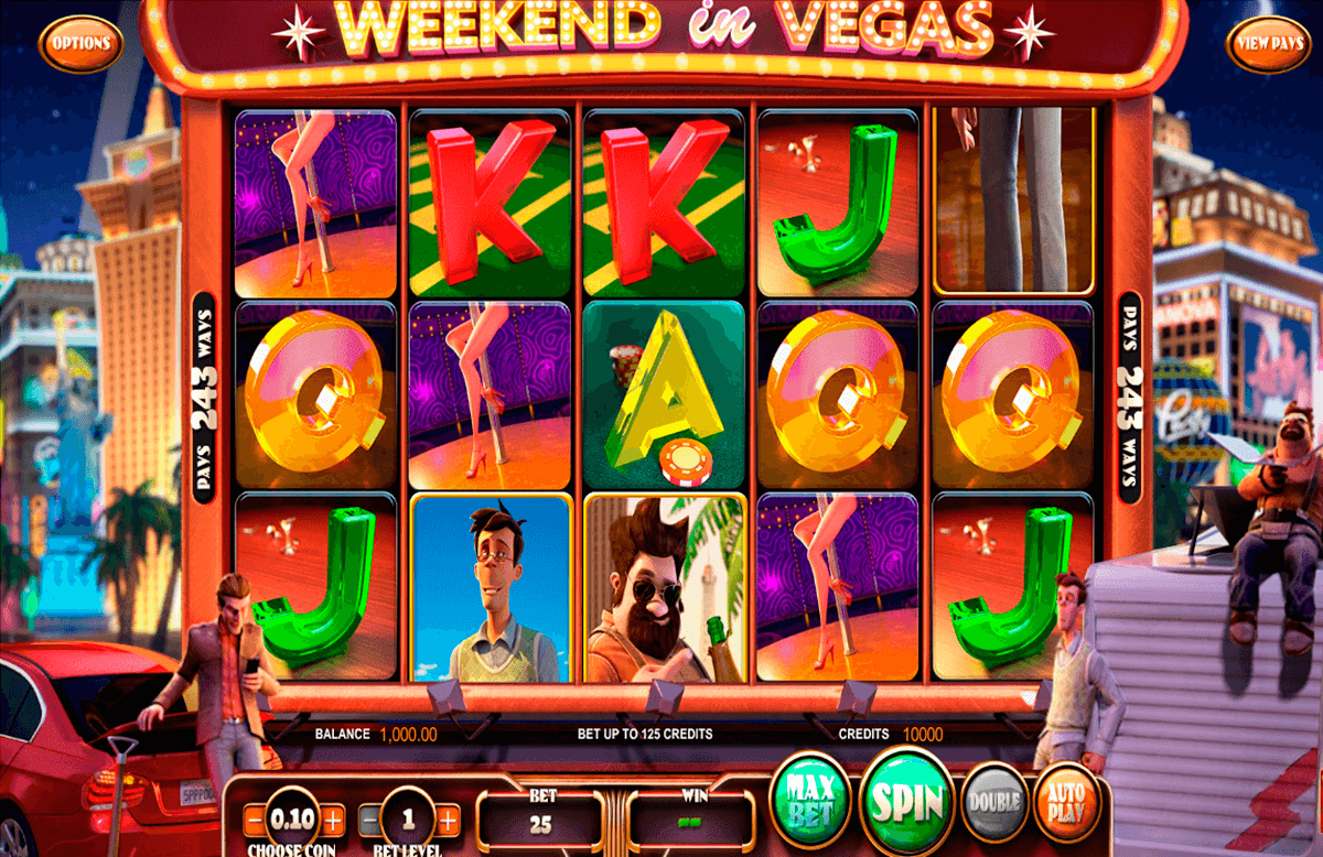 weekend in vegas betsoft pacanele