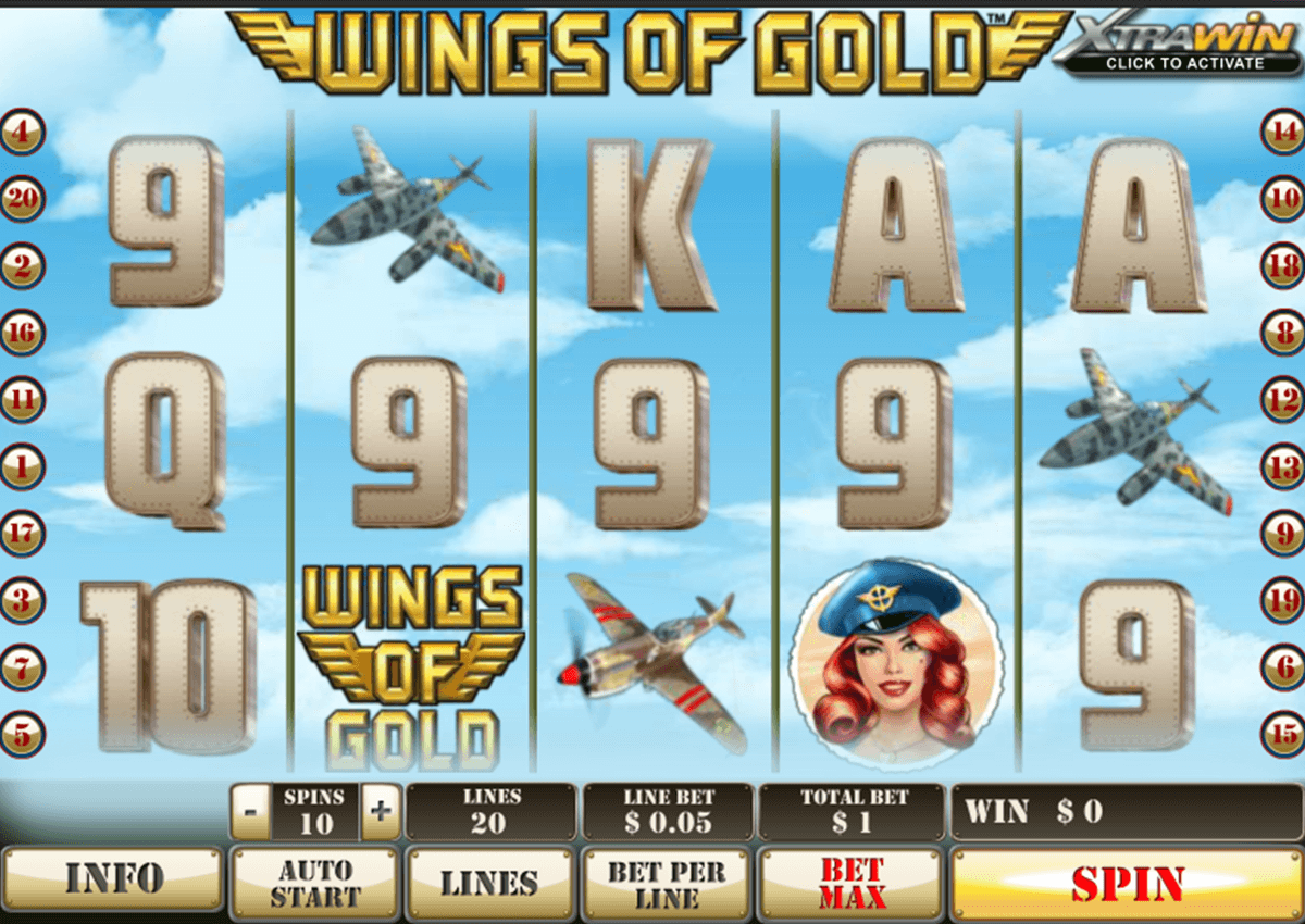 wings of gold playtech pacanele