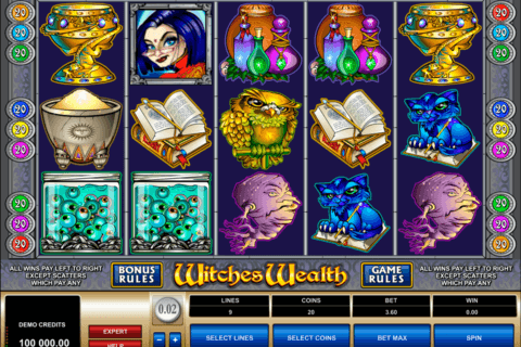 witches wealth microgaming pacanele